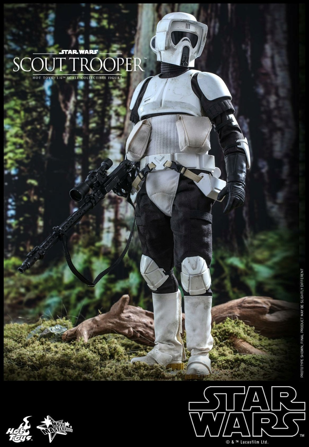 Scout Trooper Sixth Scale Figure - Hot Toys - Star Wars ROTJ Scout_32