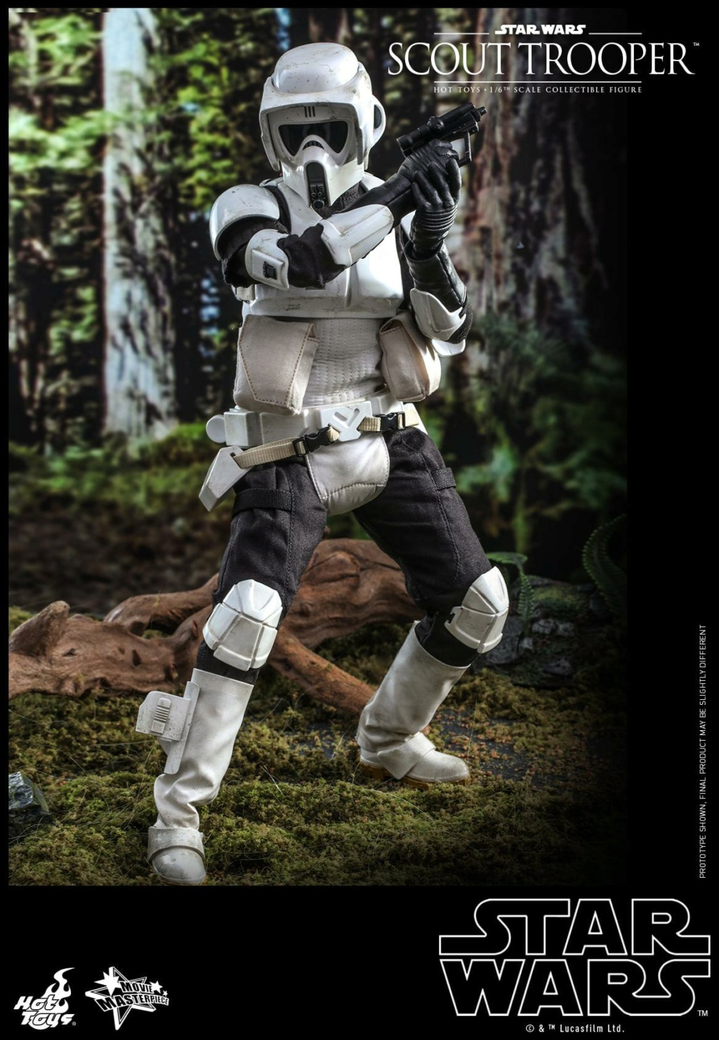 Scout Trooper Sixth Scale Figure - Hot Toys - Star Wars ROTJ Scout_33