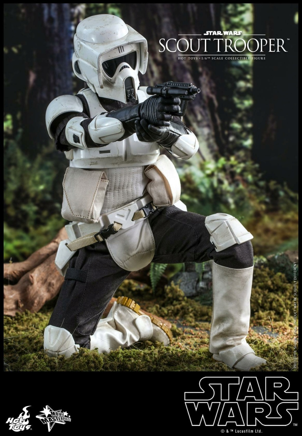 Scout Trooper Sixth Scale Figure - Hot Toys - Star Wars ROTJ Scout_34