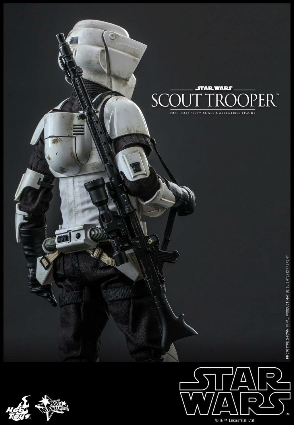 Scout Trooper Sixth Scale Figure - Hot Toys - Star Wars ROTJ Scout_35