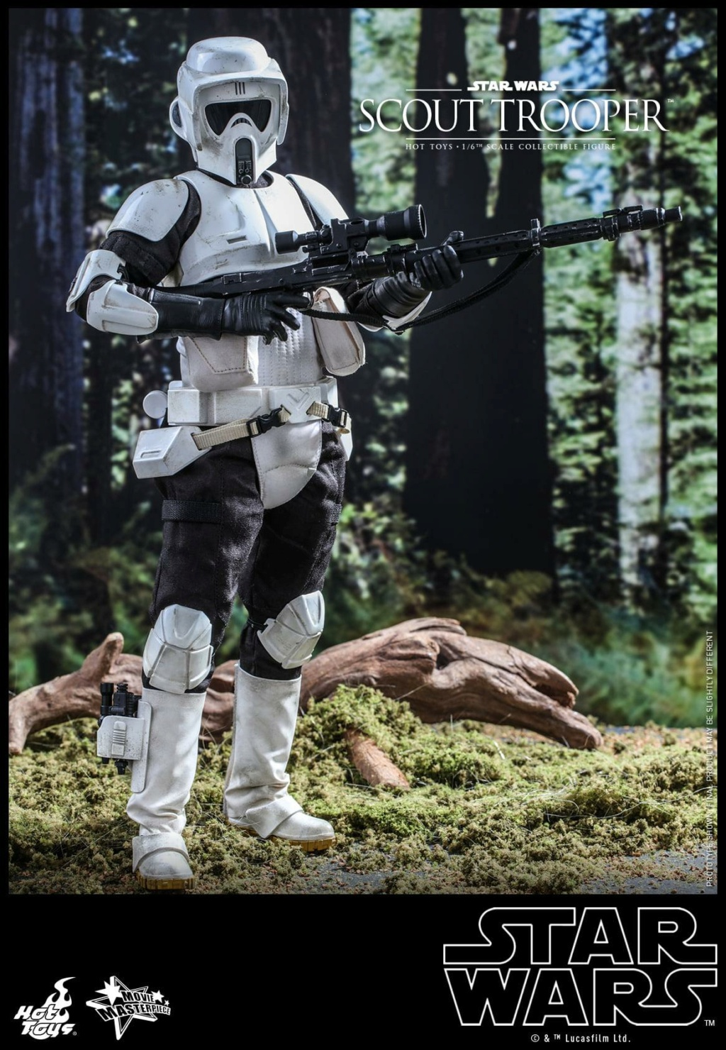 Scout Trooper Sixth Scale Figure - Hot Toys - Star Wars ROTJ Scout_36