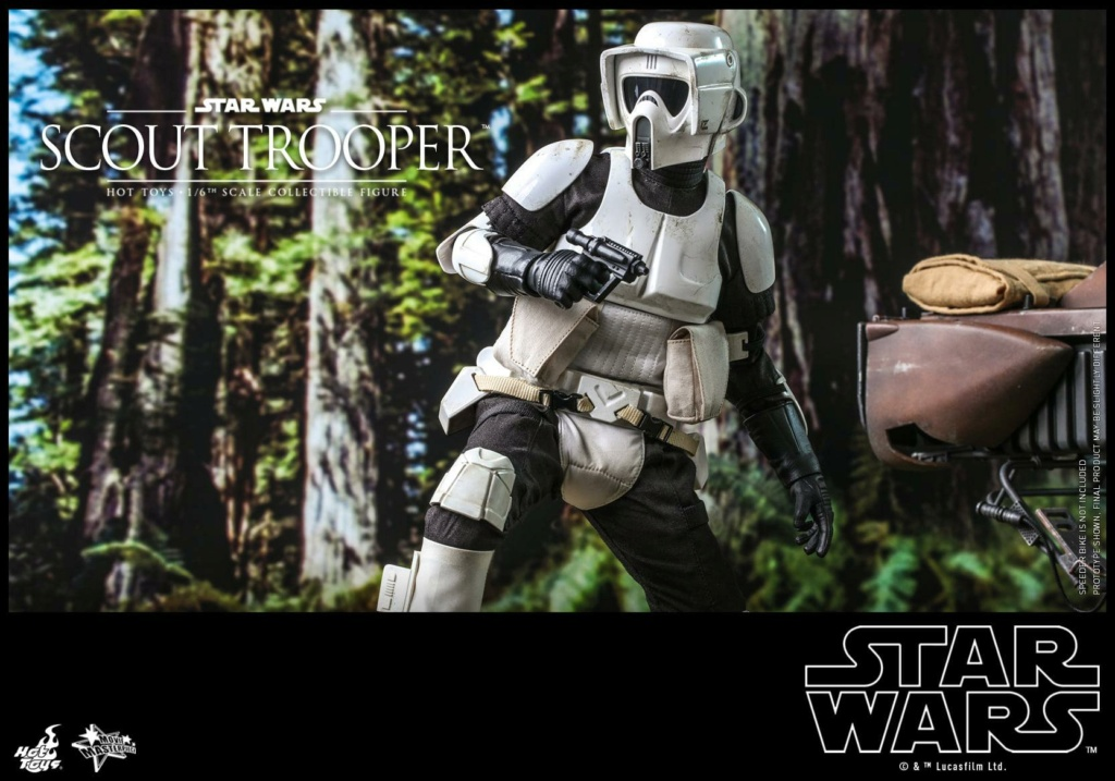 Scout Trooper Sixth Scale Figure - Hot Toys - Star Wars ROTJ Scout_37