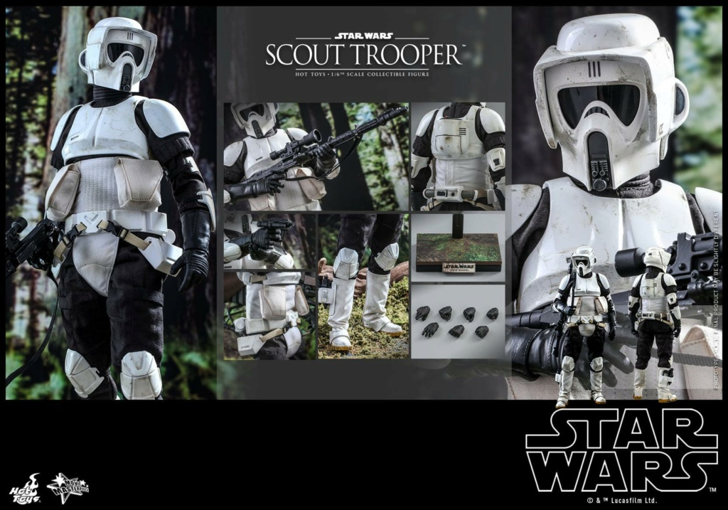 Scout Trooper Sixth Scale Figure - Hot Toys - Star Wars ROTJ Scout_38