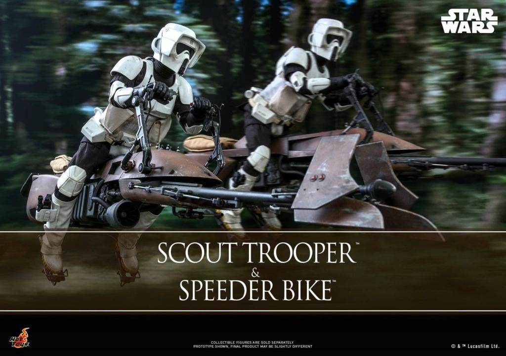 Scout Trooper & Speeder Bike 1:6 - Hot Toys - Star Wars ROTJ Scout_39