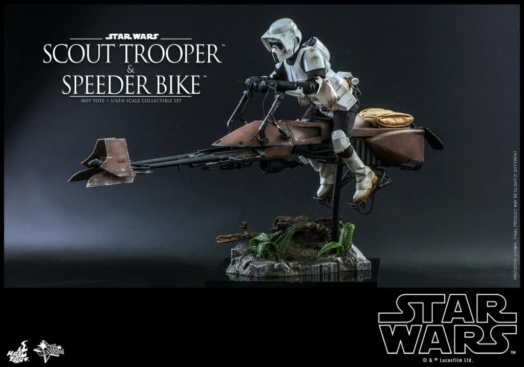 Scout Trooper & Speeder Bike 1:6 - Hot Toys - Star Wars ROTJ Scout_40
