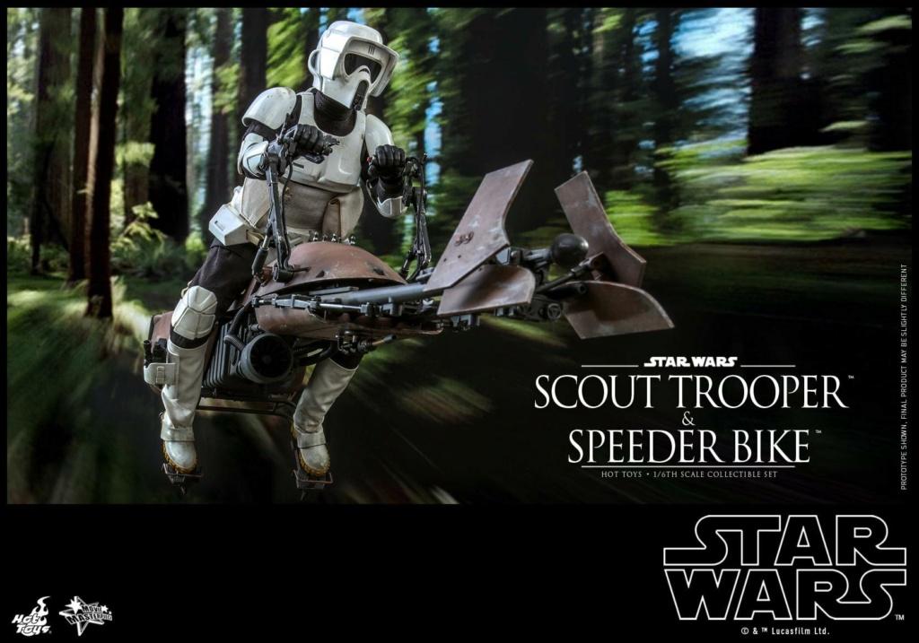Scout Trooper & Speeder Bike 1:6 - Hot Toys - Star Wars ROTJ Scout_42