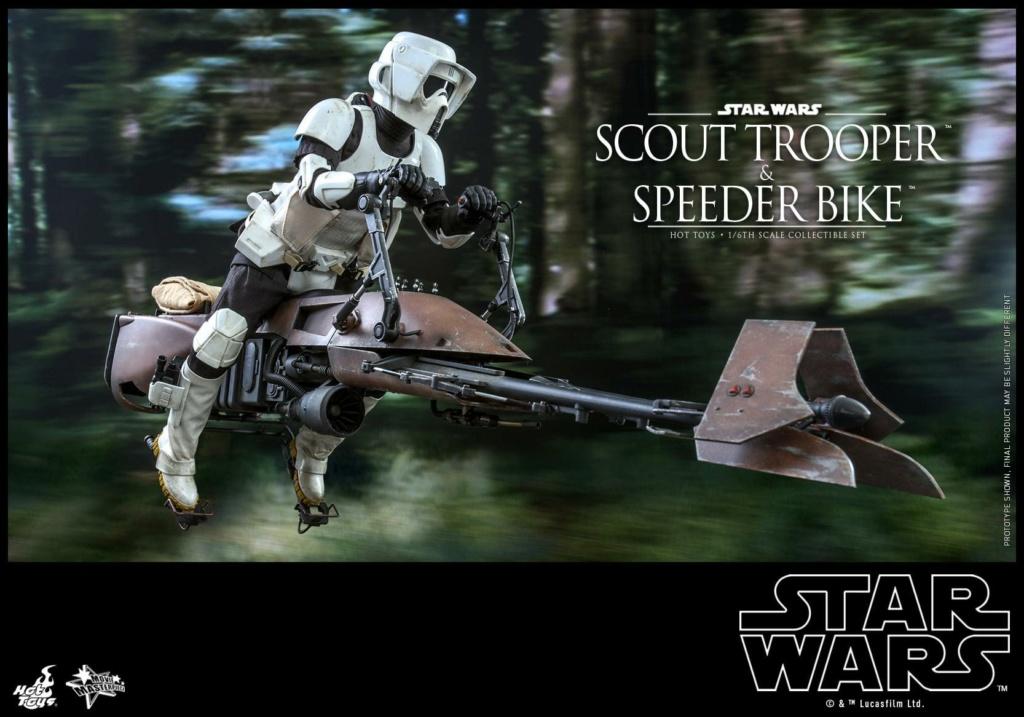 Scout Trooper & Speeder Bike 1:6 - Hot Toys - Star Wars ROTJ Scout_43