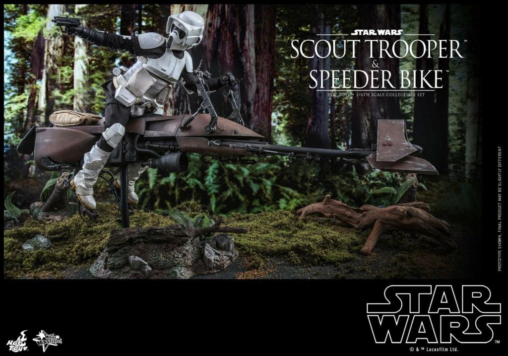 Scout Trooper & Speeder Bike 1:6 - Hot Toys - Star Wars ROTJ Scout_44