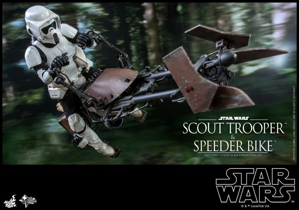 Scout Trooper & Speeder Bike 1:6 - Hot Toys - Star Wars ROTJ Scout_45