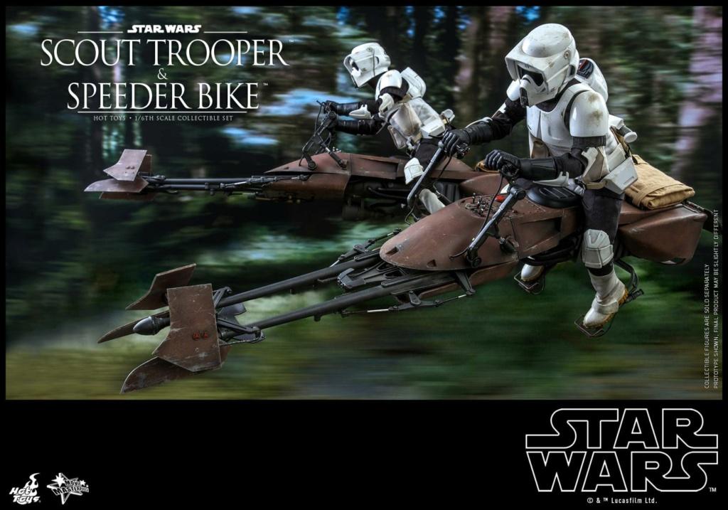 Scout Trooper & Speeder Bike 1:6 - Hot Toys - Star Wars ROTJ Scout_46