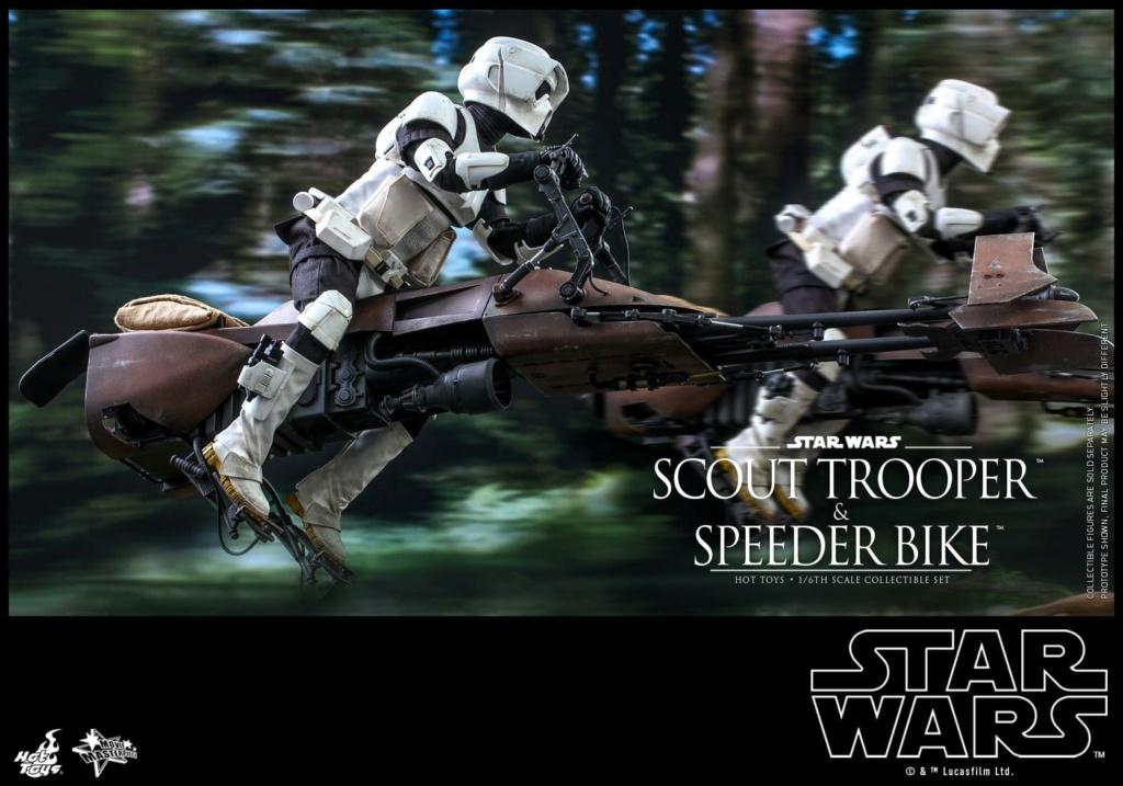Scout Trooper & Speeder Bike 1:6 - Hot Toys - Star Wars ROTJ Scout_47