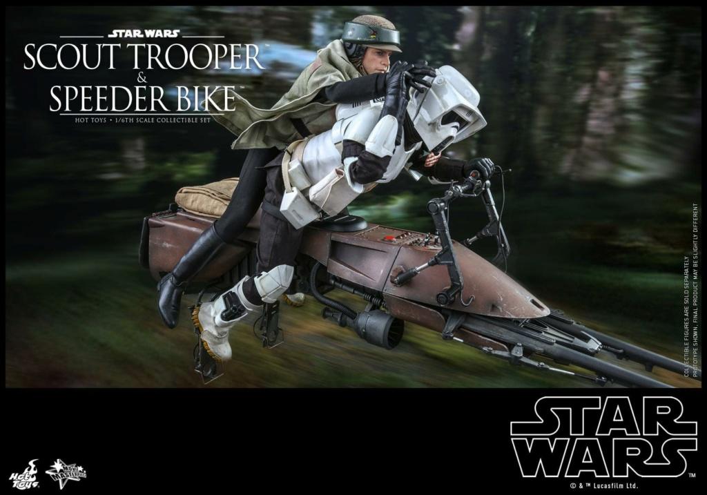 Scout Trooper & Speeder Bike 1:6 - Hot Toys - Star Wars ROTJ Scout_48