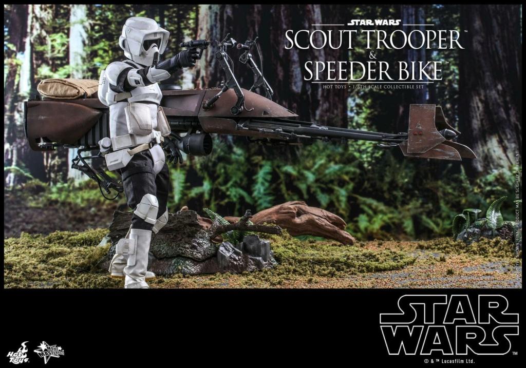 Scout Trooper & Speeder Bike 1:6 - Hot Toys - Star Wars ROTJ Scout_49