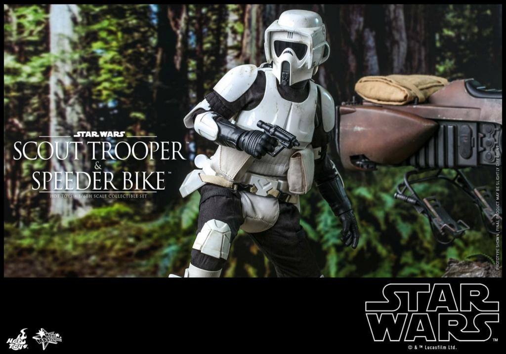 Scout Trooper & Speeder Bike 1:6 - Hot Toys - Star Wars ROTJ Scout_51