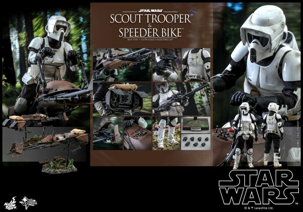 Scout Trooper & Speeder Bike 1:6 - Hot Toys - Star Wars ROTJ Scout_52