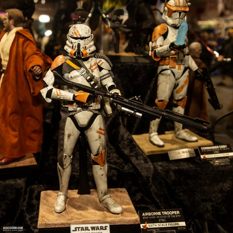 Hot Toys Star Wars - Airborne Trooper Sixth Scale Figure Sdcc2020