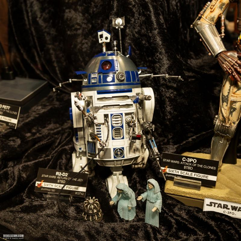 Hot Toys Star Wars - R2-D2 (ROTJ) Sixth Scale Figure Sdcc2025