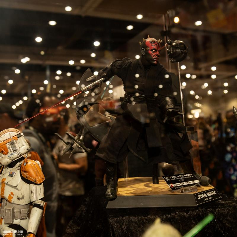 Hot Toys - Darth Maul and Sith Speeder Sixth Scale Figure Sdcc2029