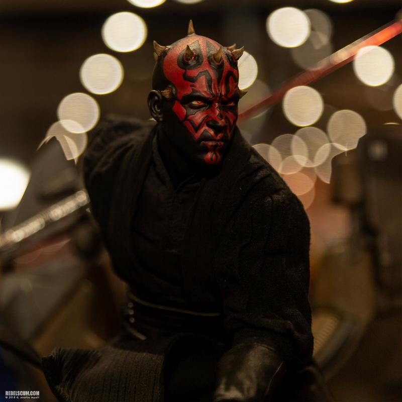 Hot Toys - Darth Maul and Sith Speeder Sixth Scale Figure Sdcc2031