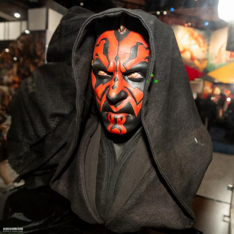 Sideshow Collectibles - Star Wars Darth Maul Life-Size Bust Sdcc2037