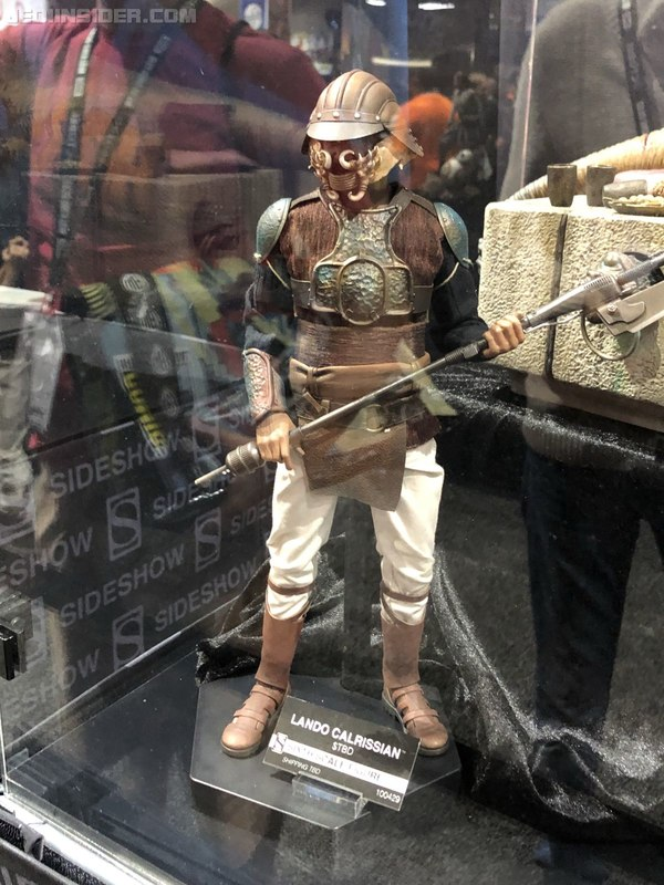 Sideshow - Lando Calrissian (Skiff Guard Version) 6th figure Sdcc2038