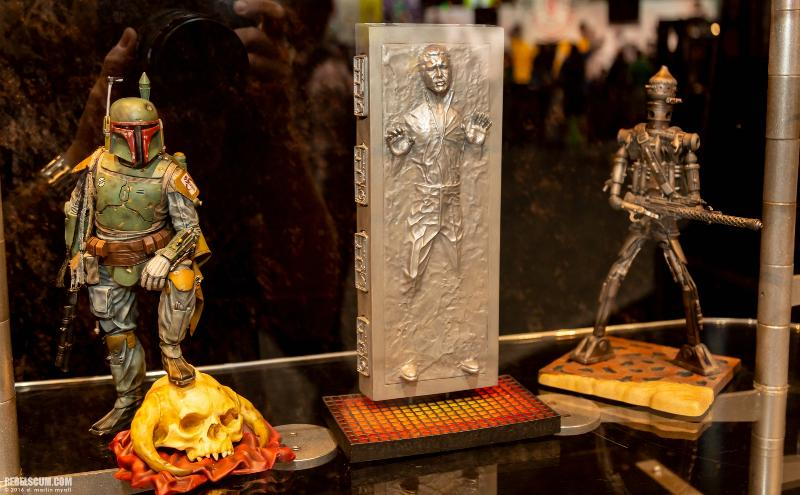 Gentle Giant - Han Carbonite Collector's Gallery statue Sdcc2048