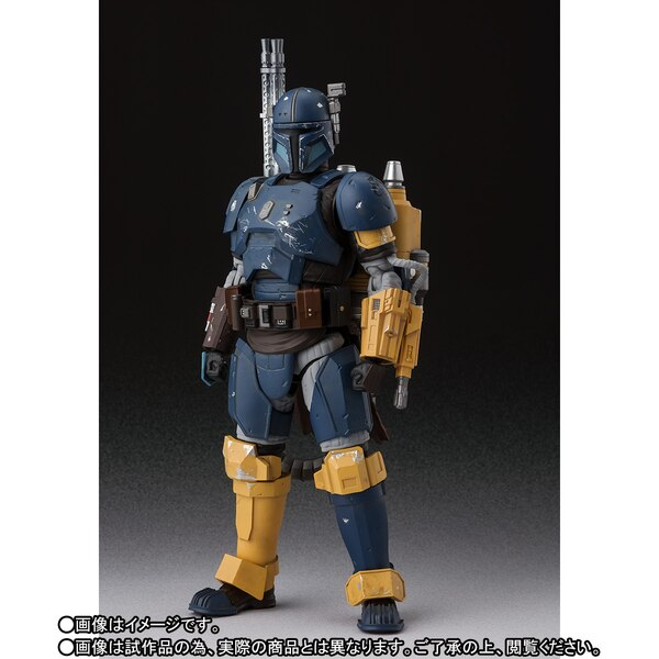 S.H. Figuarts The Mandalorian Heavy Infantry Figure Sh-fig11