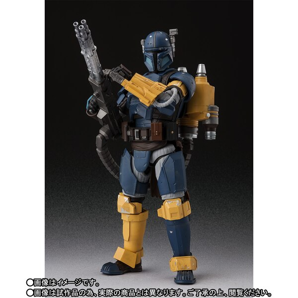 S.H. Figuarts The Mandalorian Heavy Infantry Figure Sh-fig14