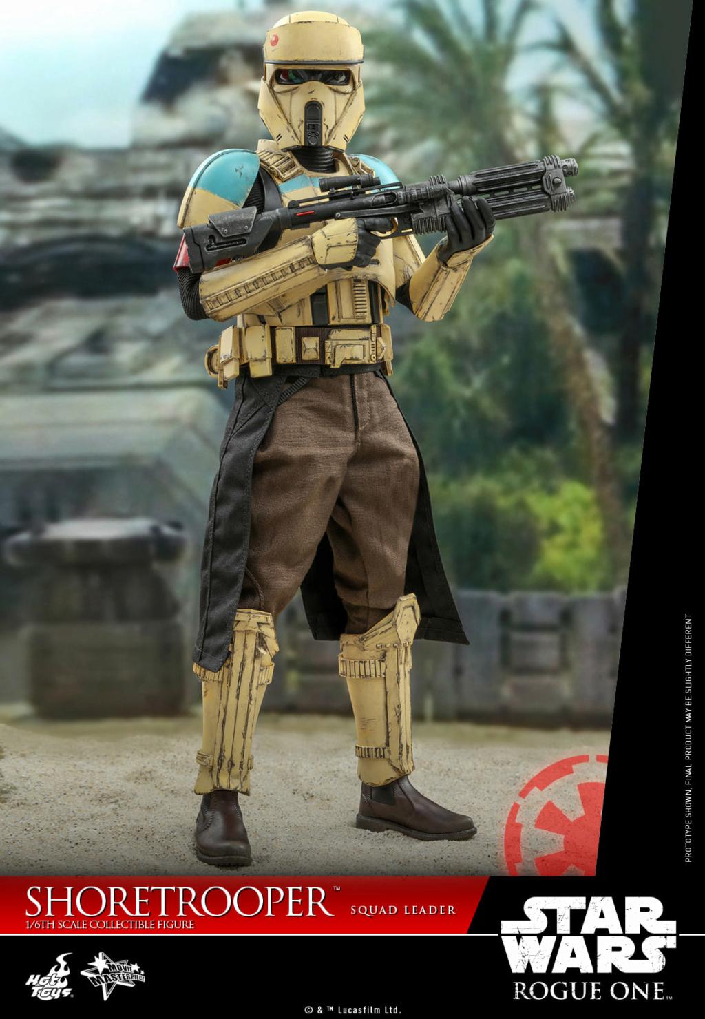 Shoretrooper Squad Leader Collectible Figure - 1/6  Hot Toys Shoret29