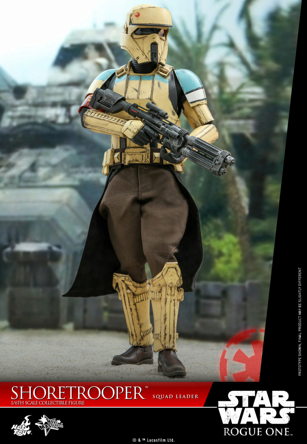 Shoretrooper Squad Leader Collectible Figure - 1/6  Hot Toys Shoret30
