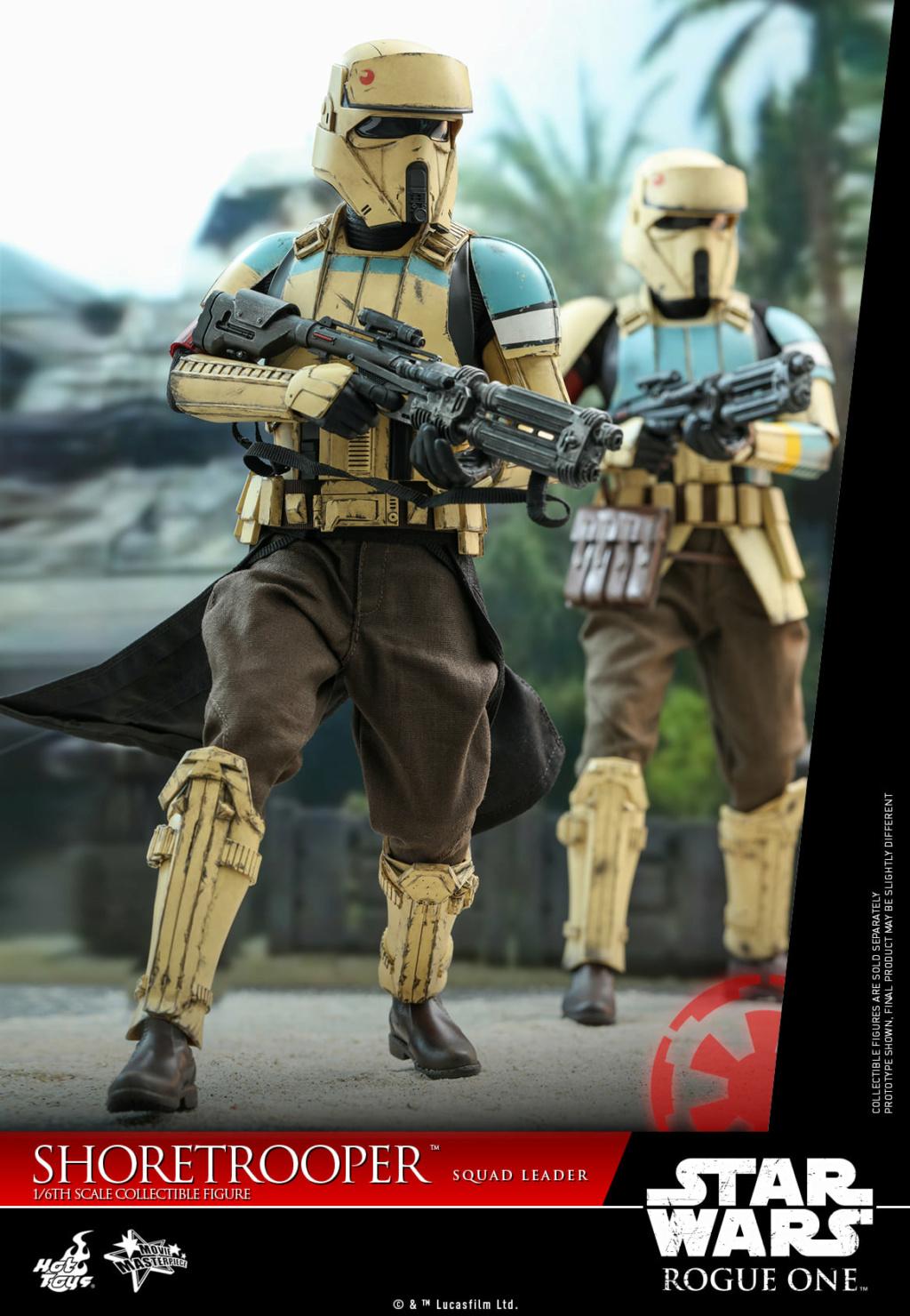 Shoretrooper Squad Leader Collectible Figure - 1/6  Hot Toys Shoret32