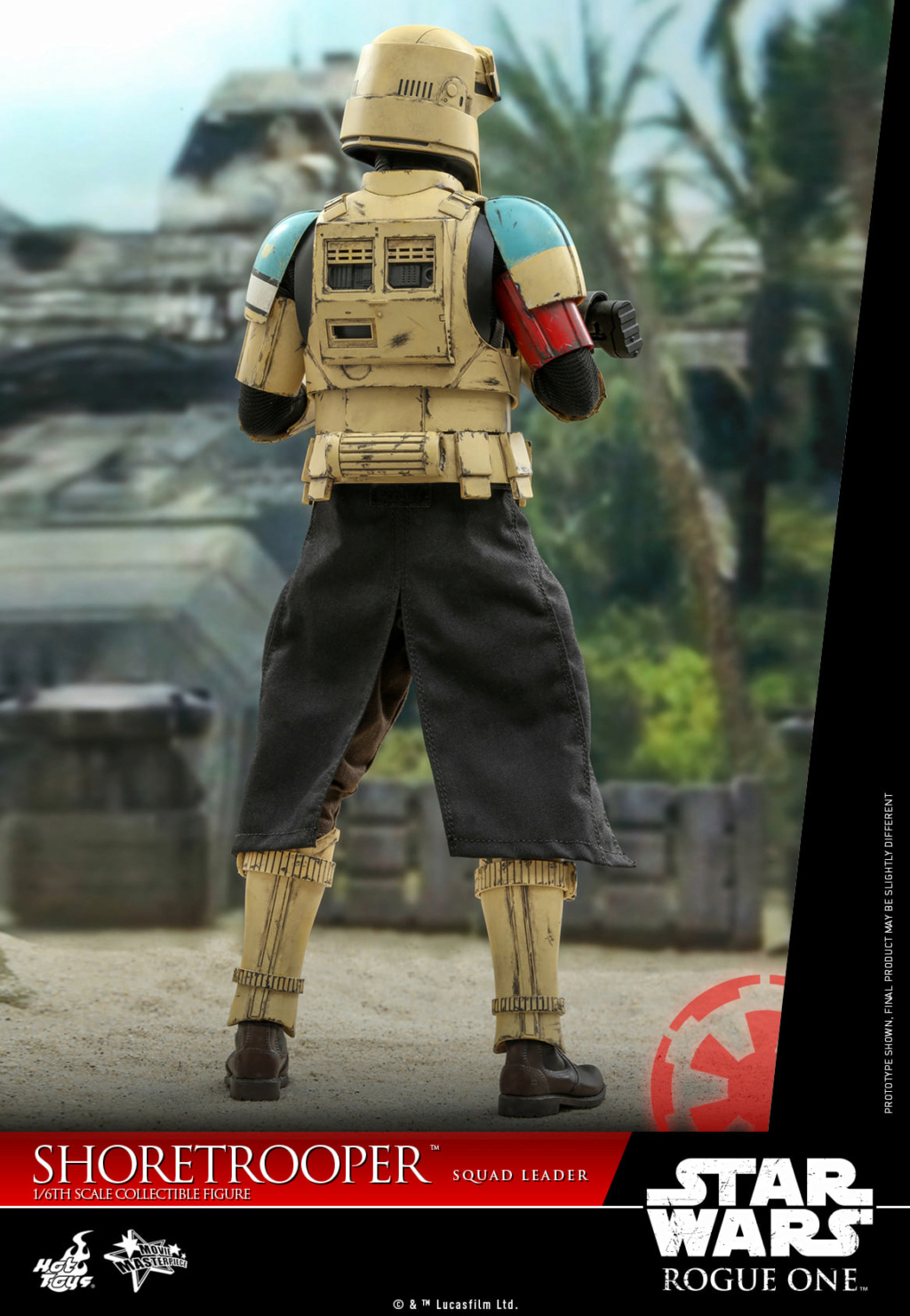 Shoretrooper Squad Leader Collectible Figure - 1/6  Hot Toys Shoret33