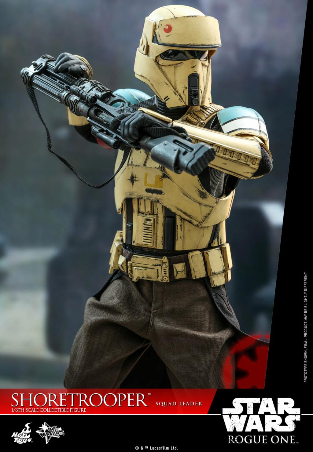 Shoretrooper Squad Leader Collectible Figure - 1/6  Hot Toys Shoret34