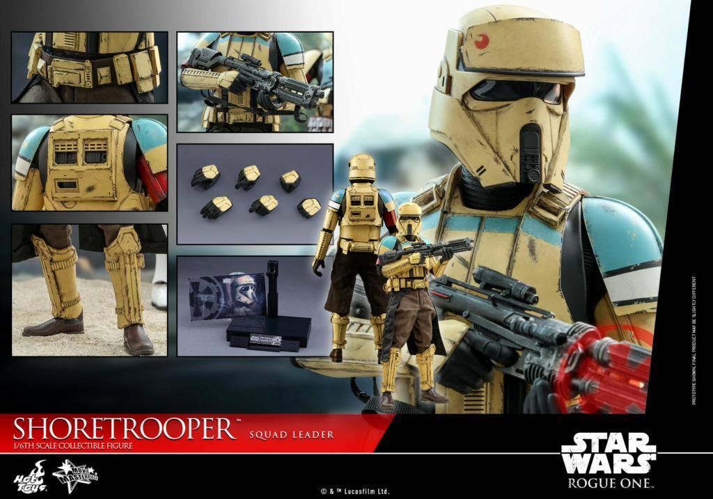 Shoretrooper Squad Leader Collectible Figure - 1/6  Hot Toys Shoret38