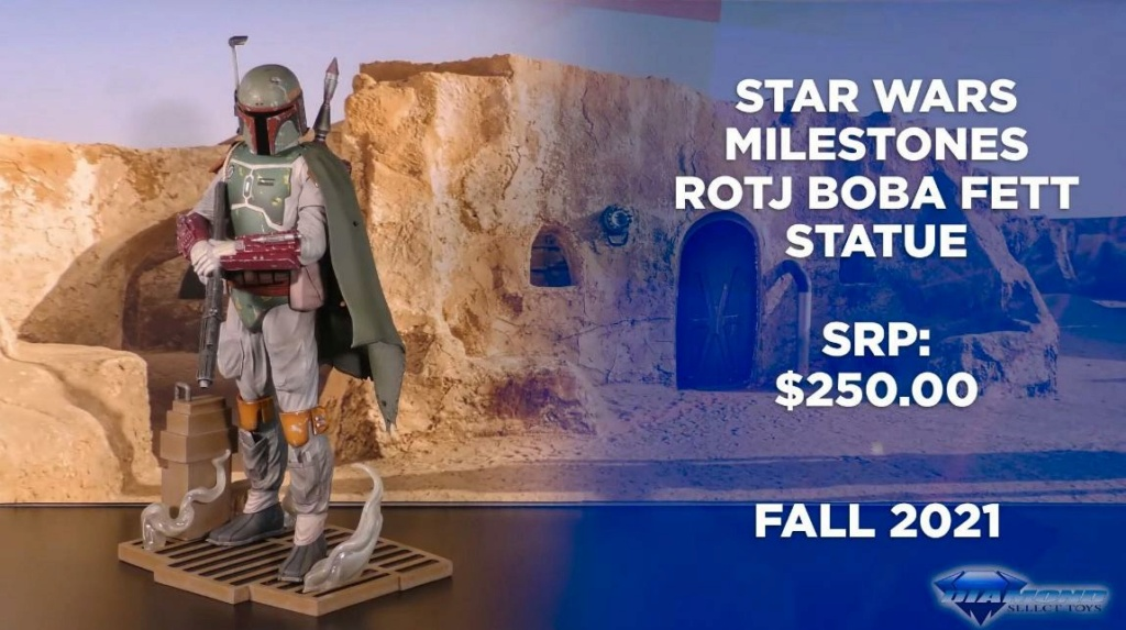 Boba Fett Premier Milestone Statue - ROTJ - Gentle Giant Showca24