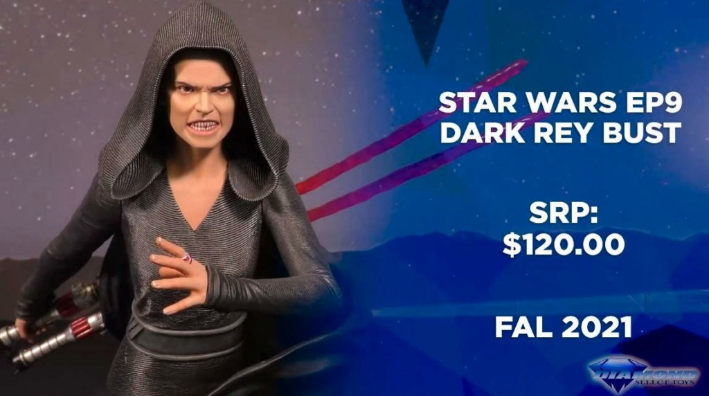 Dark Rey Bust with her double saber - Gentle Giant Showca27