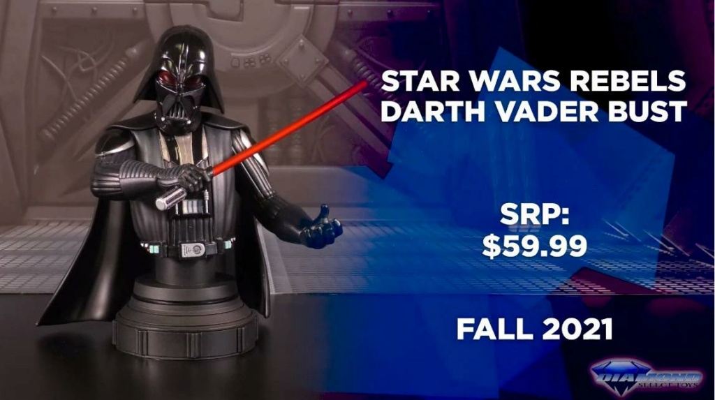 Darth Vader Animated Mini Bust SWRebels - Gentle Giant / DST Showca34