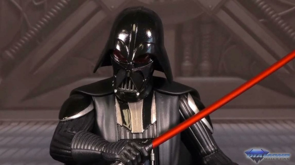 Darth Vader Animated Mini Bust SWRebels - Gentle Giant / DST Showca36