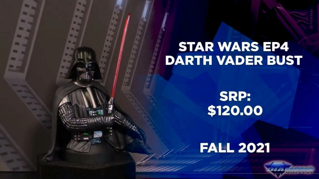 Darth Vader - A New Hope Mini Bust - Gentle Giant/DST Showca37