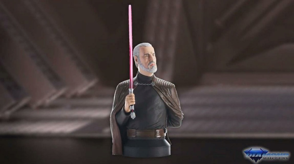 Dooku Mini Bust - Gentle Giant / Diamond Select Toys Showca41