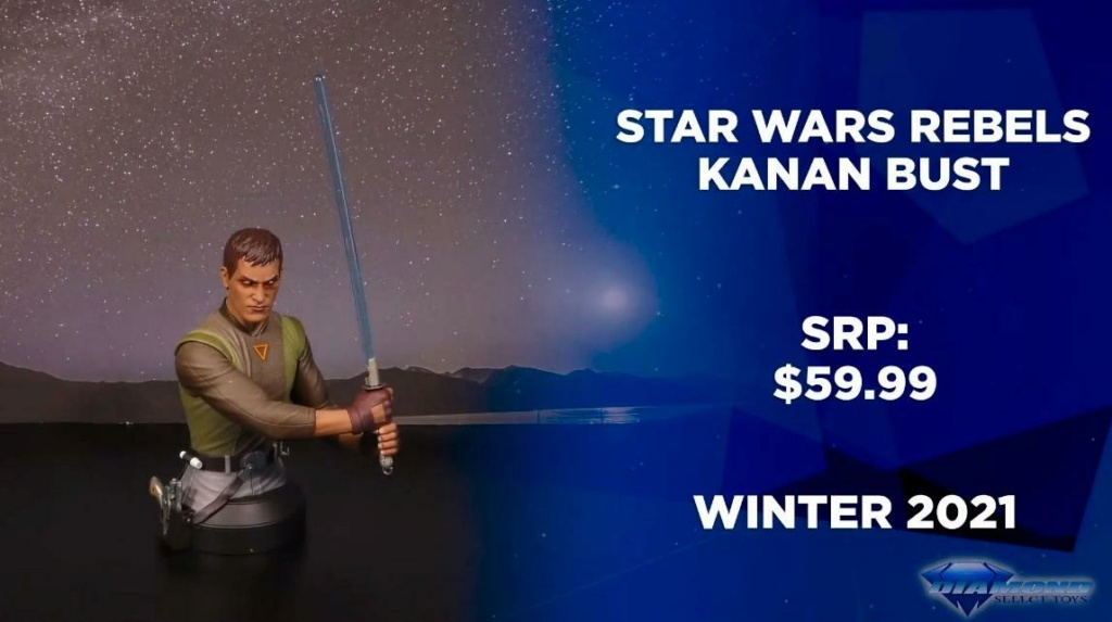 Kanan Mini Bust Star Wars Rebels - Gentle Giant / DST  Showca42