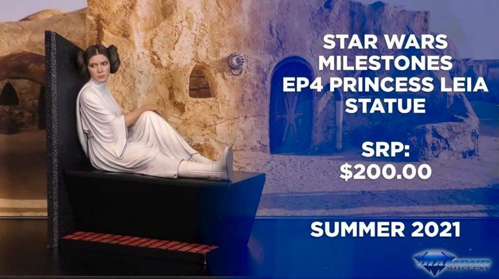 Leia Organa Milestone Statue - Star Wars: A New Hope G Giant Showca45