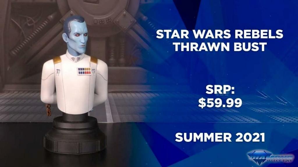 Grand Admiral Thrawn Animated Mini Bust - Gentle Giant Showca57
