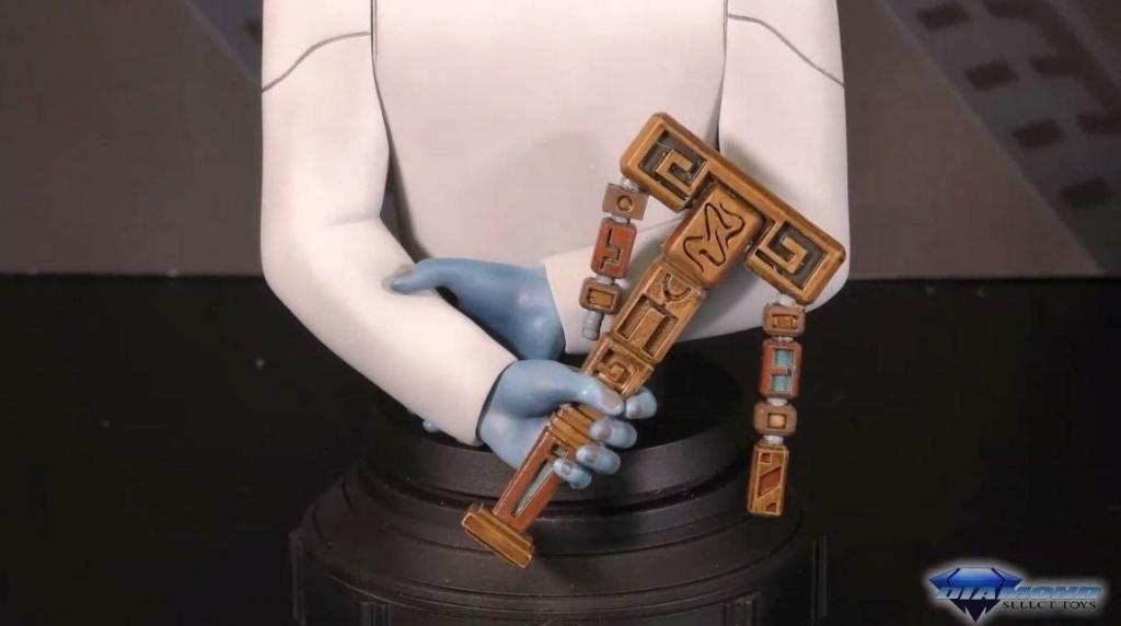 Grand Admiral Thrawn Animated Mini Bust - Gentle Giant Showca59