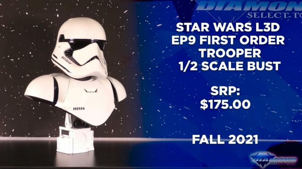 Stormtrooper Ep9 Legends 3D - 1:2 Bust - Gentle Giant / DST Showca63