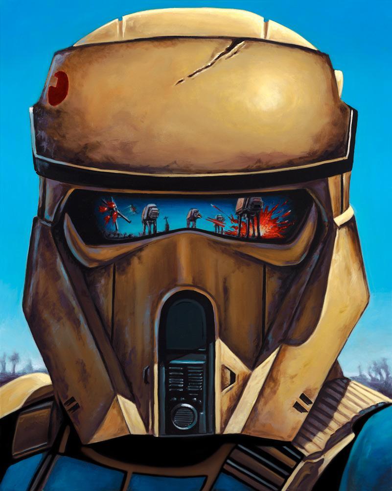 Showdown on Scarif - Artwork Star Wars - ACME Archives  Showdo10