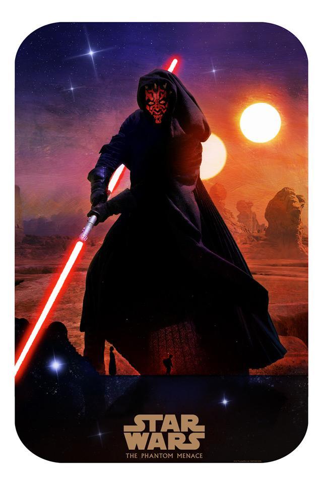 Sinister Shadow - Artwork Star Wars - ACME Archives Sinist10