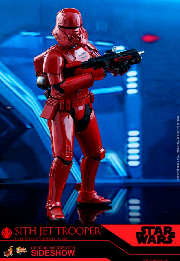 Star Wars Sith Jet Trooper Sixth Scale Figure - Hot Toys Sith-j10
