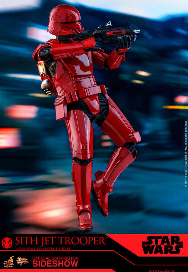 Star Wars Sith Jet Trooper Sixth Scale Figure - Hot Toys Sith-j11