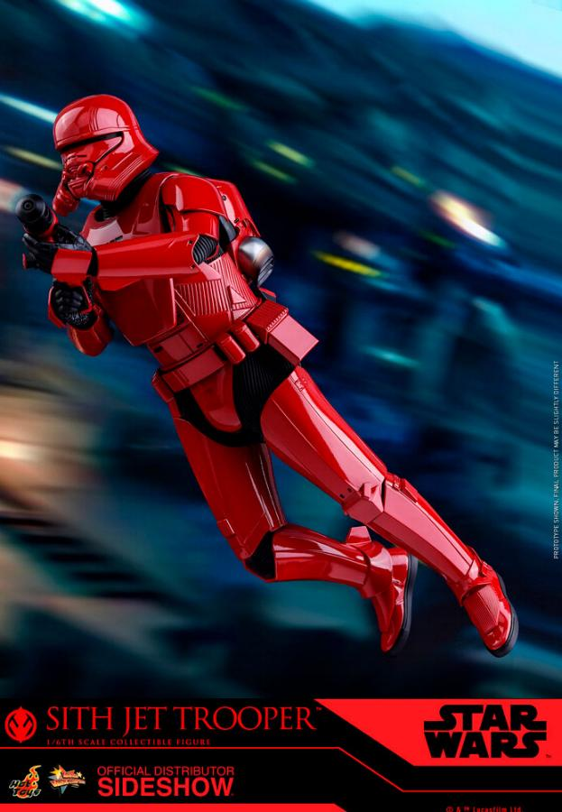 Star Wars Sith Jet Trooper Sixth Scale Figure - Hot Toys Sith-j13